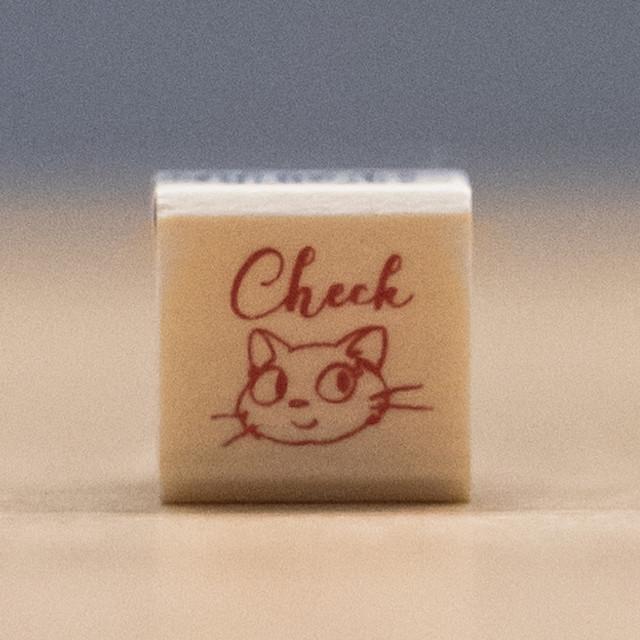 魔女の宅急便 木製スタンプ 15×15(Check/8007)