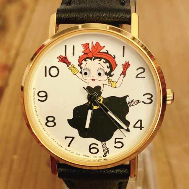 Betty Boop ウォッチ Franklin mint