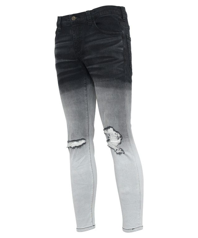 GRADATION STRETCH SKINNY DENIM PANTS[REP106]