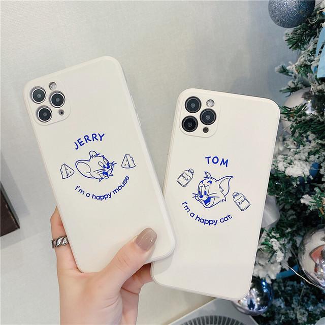 Mouse cat couple iphone case