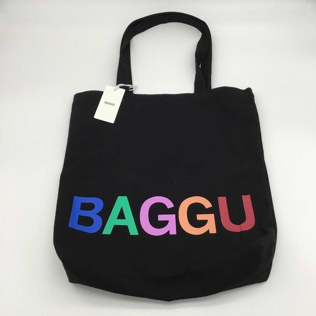 【日本未発売モデル】BAGGU // トートバッグ ブラック
