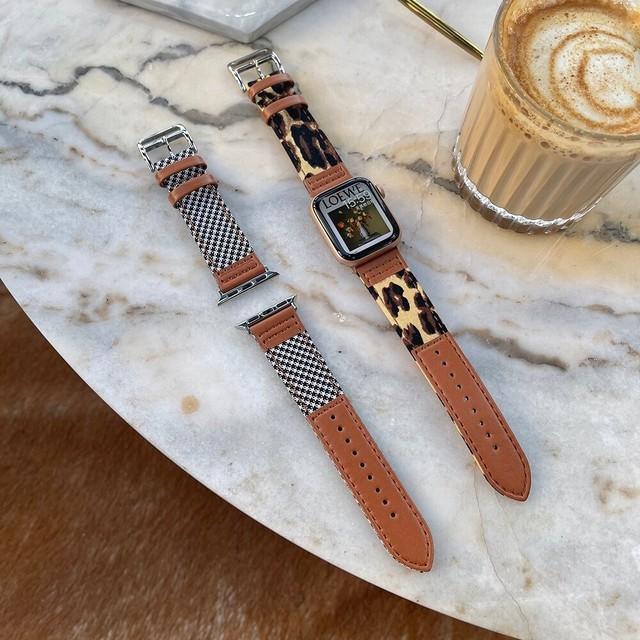 Adult leather applewatch belt