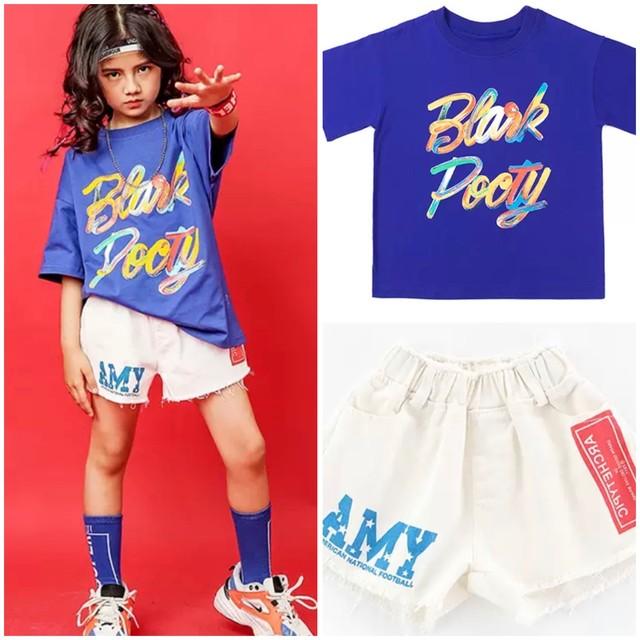 110~180cm ★ セットアップ ツーピース セットアイテム Tシャツ ショートパンツ ショート丈 カジュアル