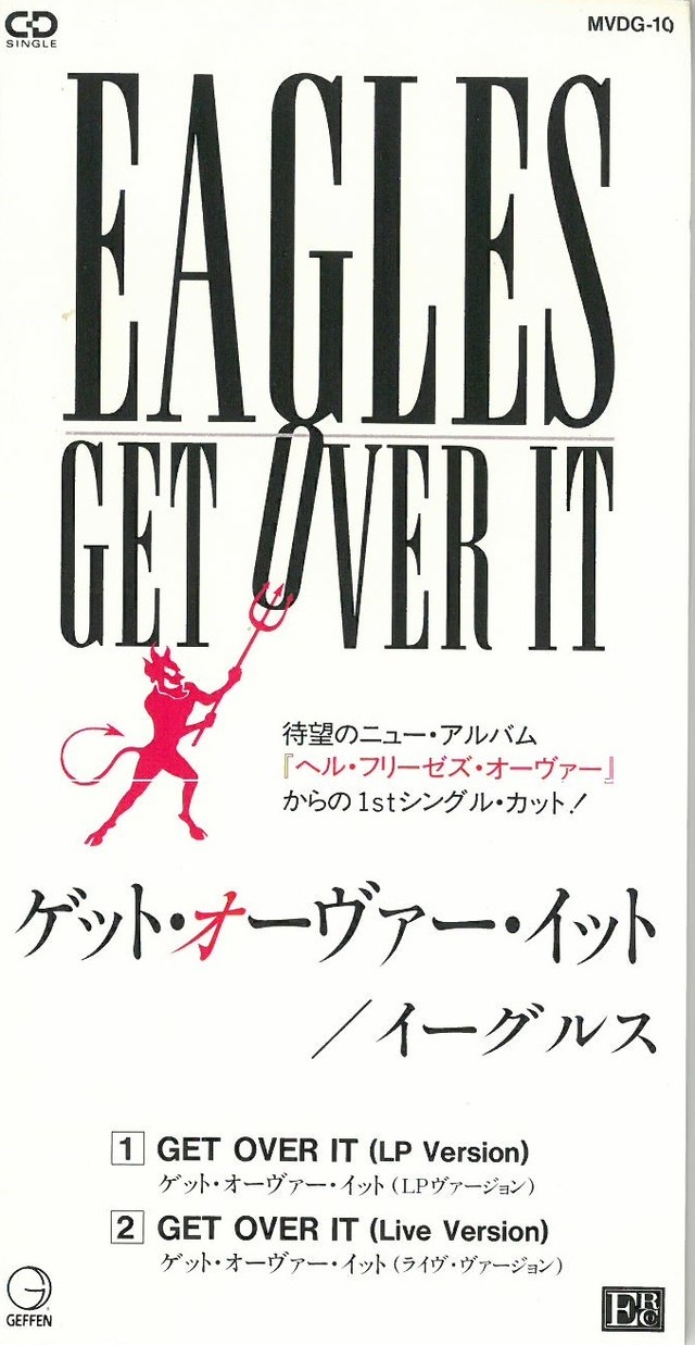 EAGLES / GET OVER IT MINI SINGLE (CD) 日本盤