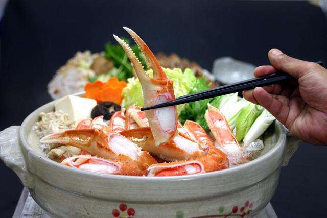 かに鍋セット【ダシ付き】(1.5kg:3匹分)