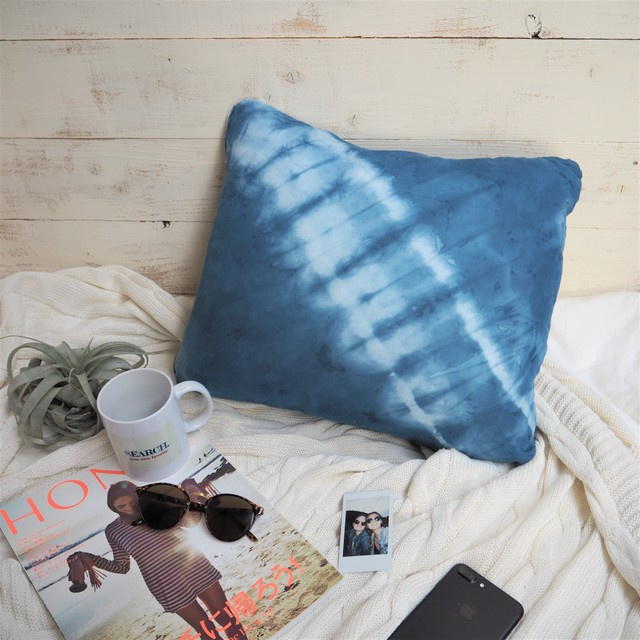 Tie-dye Cushion Cover《INDIGO》11381069