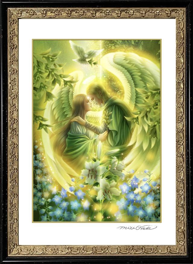 エンジェルプリズムカード・SSサイズ「希望の天使・大天使ラファエル」