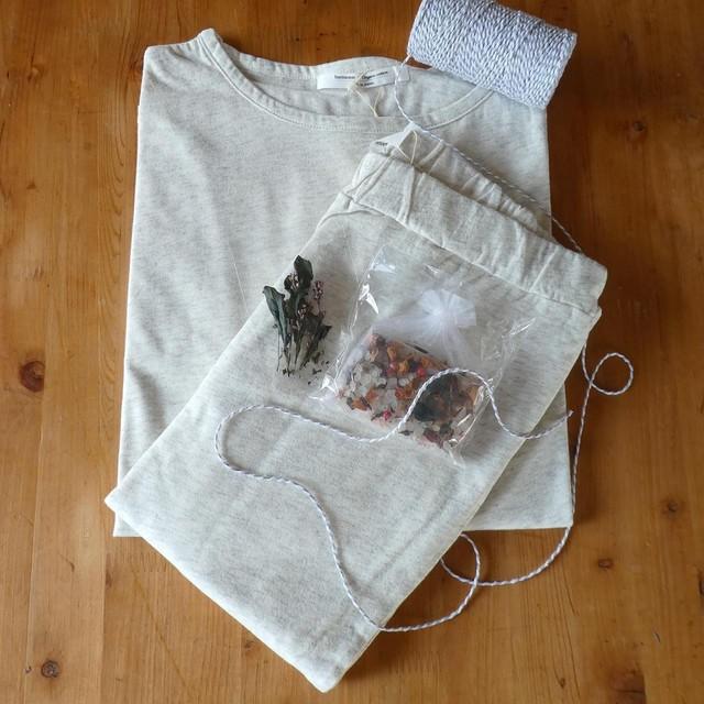 harmonie オーガニックコットン リラックスTシャツ