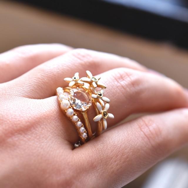 stack ring   Fleurs de Vaniles