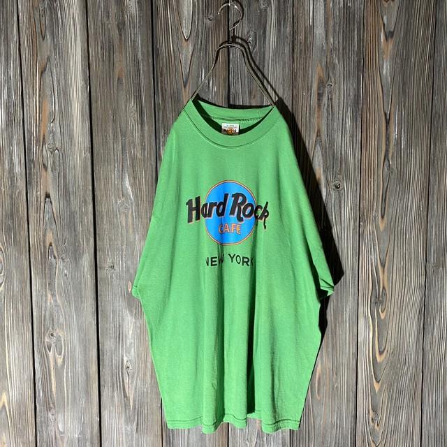 [Hard Rock Cafe]New York light green T shirt
