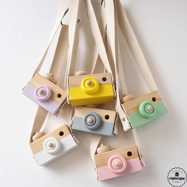 «即納・再入荷» 木のカメラ 6colors