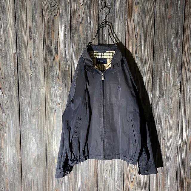 [Burberry]thin black jacket