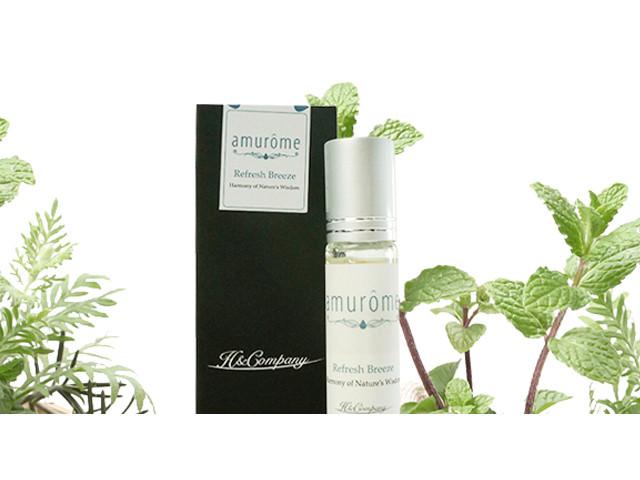 【amurôme】「Refresh Breeze」~ 天然精油ロールオンフレグランス