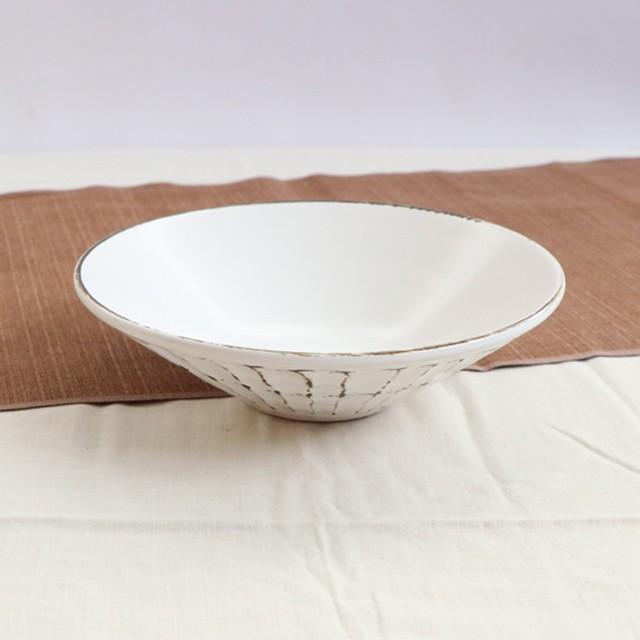 【SL-0108】磁器 13.7cm  ごはん茶碗 刷毛目