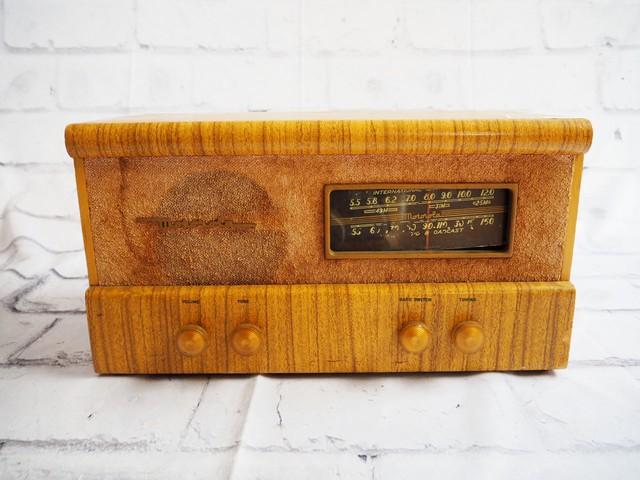 品番1339 motorola モトローラー 真空管ラジオ ヴィンテージ