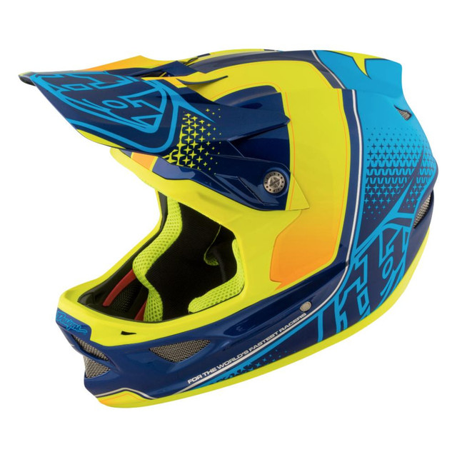 Troy Lee Designs トロイリーデザイン D3 COMPOSITE STARBURST YELLOW サイズM / セール ¥53,028 → ¥37,120