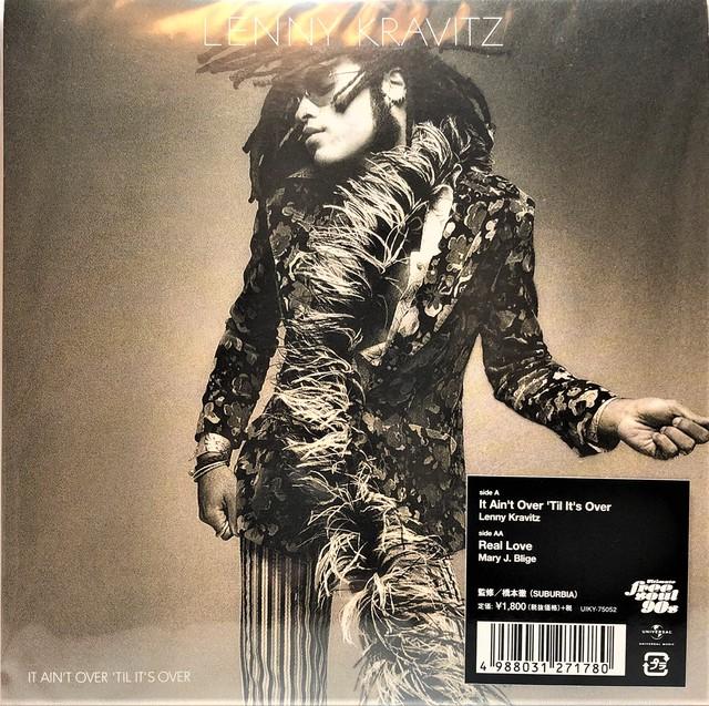 [新品7inch]  Lenny Kravitz / Mary J. Blige – It Ain't Over 'Til It's Over / Real Love