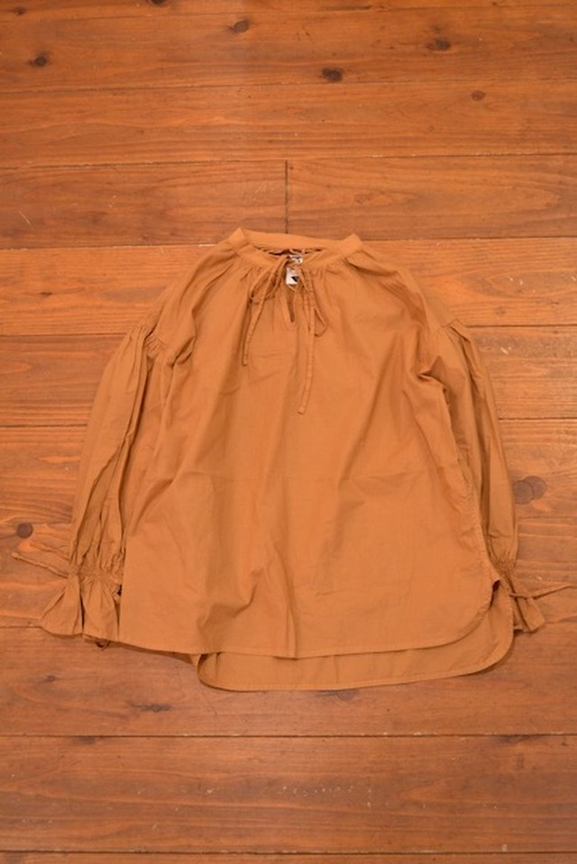 H / Original Mao-collar Blouse
