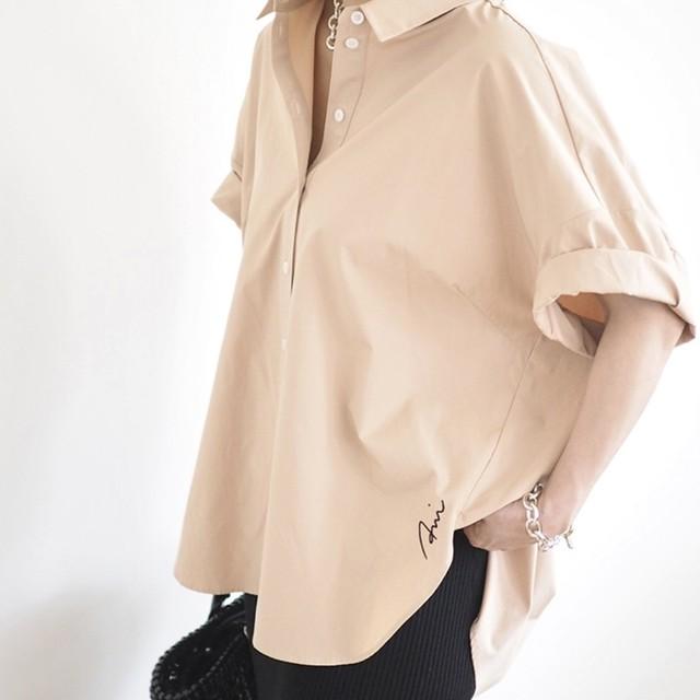 【 ANIECA 】Embroidery Shirts