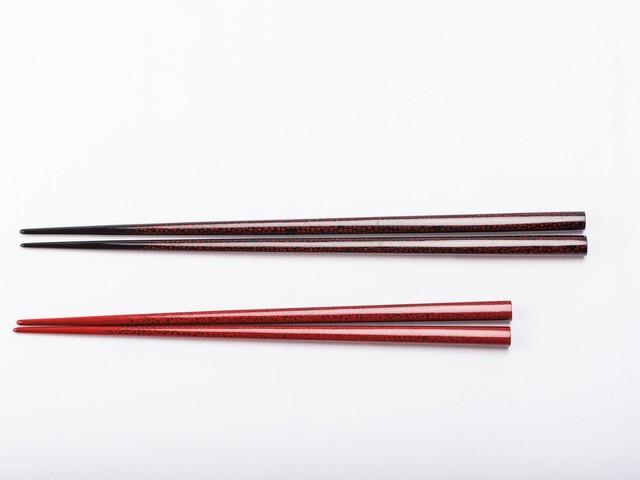 津軽塗 箸|七々子塗