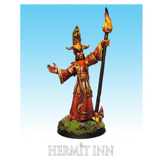深淵の妖術師:浄化の炎を操るもの - メイン画像