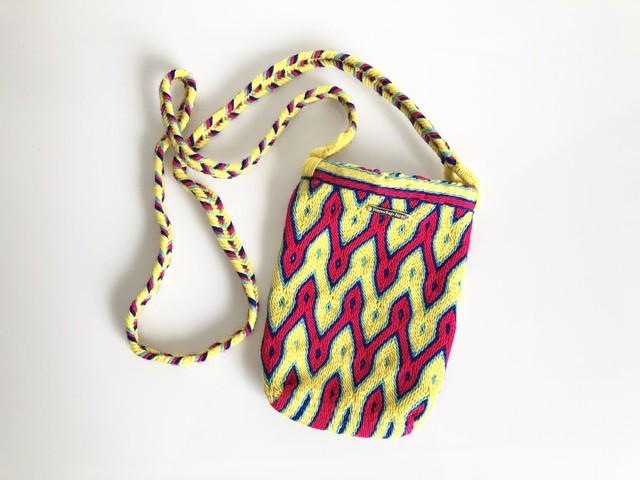 ワユーバッグ (Wayuu bag) 携帯ケース/ポシェット no.1