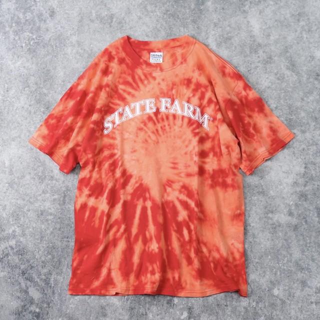 """"""" 抜染 """" Tシャツ STATE FARM M A29"""