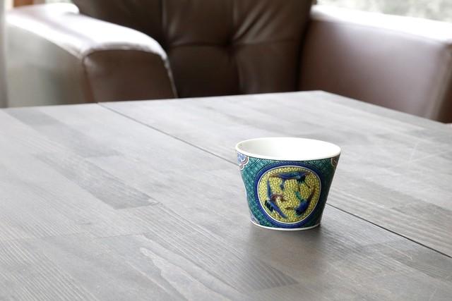 九谷十趣杯 吉田屋  〈 YOSHIDAYA 〉    *丸モ高木陶器* お酒をより楽しむためのおしゃれな酒器!