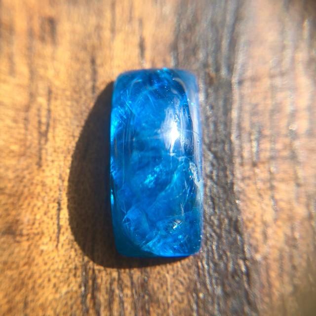 マダガスカル産ブルーアパタイト1