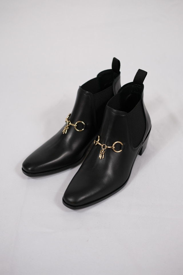 【Needles】heeled chelsea bit boot
