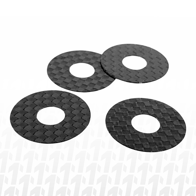 1up Racing CF Protective Body Washers - 7/8mm Post  (10404)