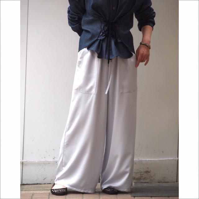 【sandglass】Venetian easy pants / 【サンドグラス】ベネシャン イージー パンツ