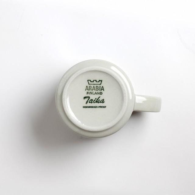 ARABIA アラビア Taika タイカ コーヒーカップ&ソーサー、プレート 三点セット 北欧ヴィンテージ