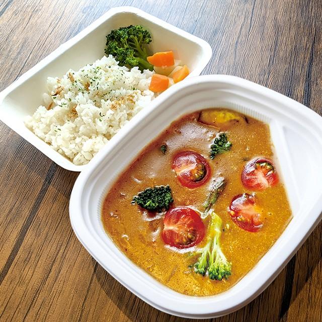 [ お弁当 ] トマトカレー / Tomato Curry / 番茄咖哩便當