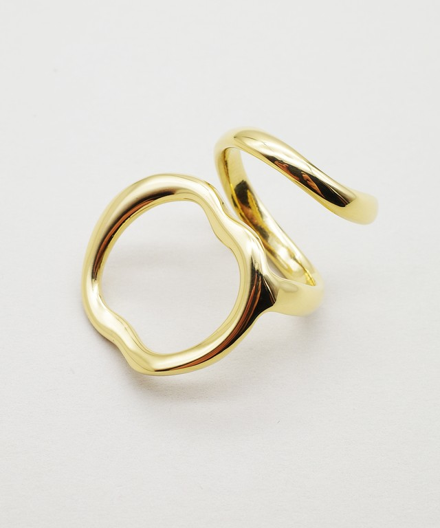 【blanc iris/ ブランイリス】Reef Collection Vermeil Ring / リング
