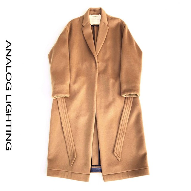 W Cashmere Long Coat/CAMEL