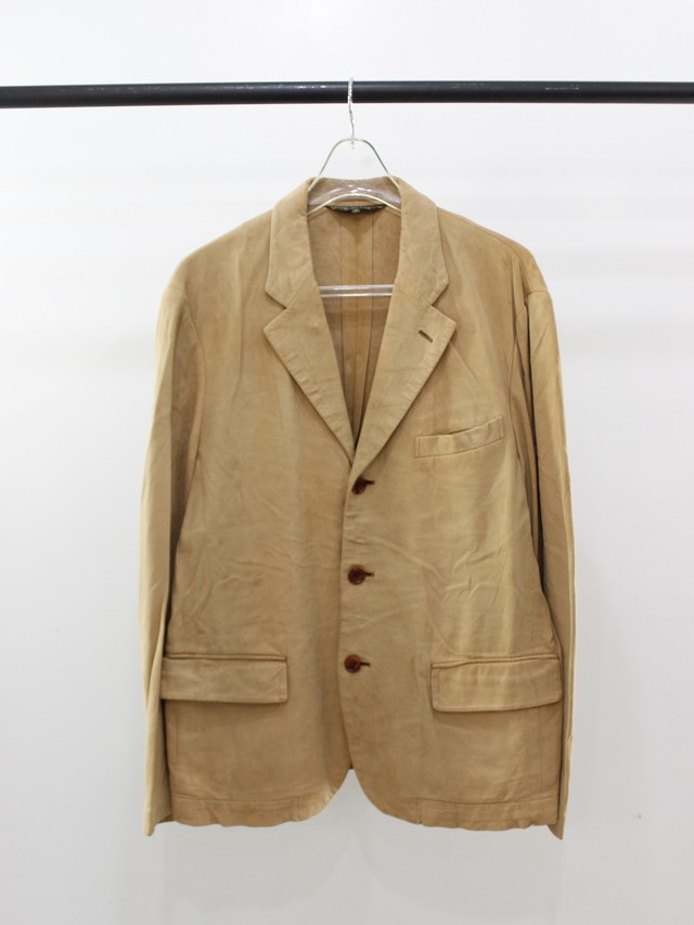 Used COMME des GARCONS HOMME PLUS fake suede jacket