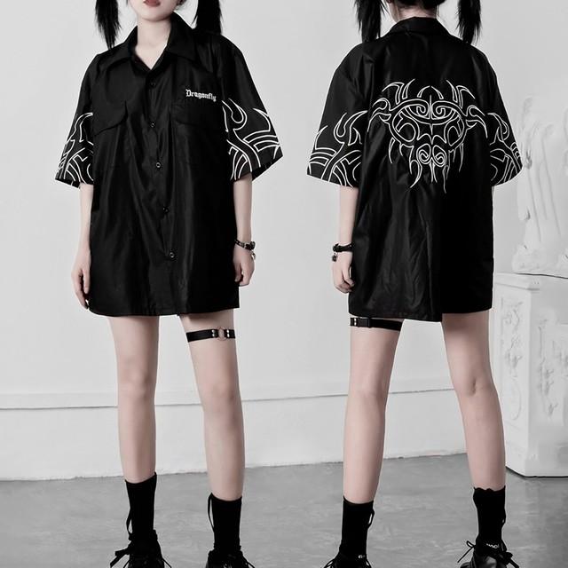 Dragonfly刺繍Yシャツ / HWG297