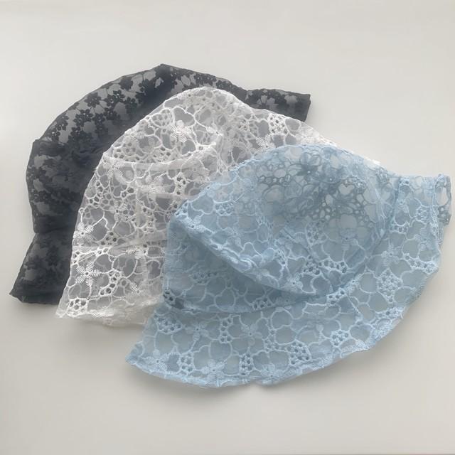 【 5/12発売START 】【即納】flower race hat(White)