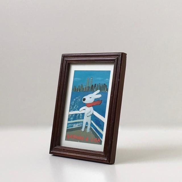 クラシカルなフォトフレーム Brown Wood|Classic Photo Frame