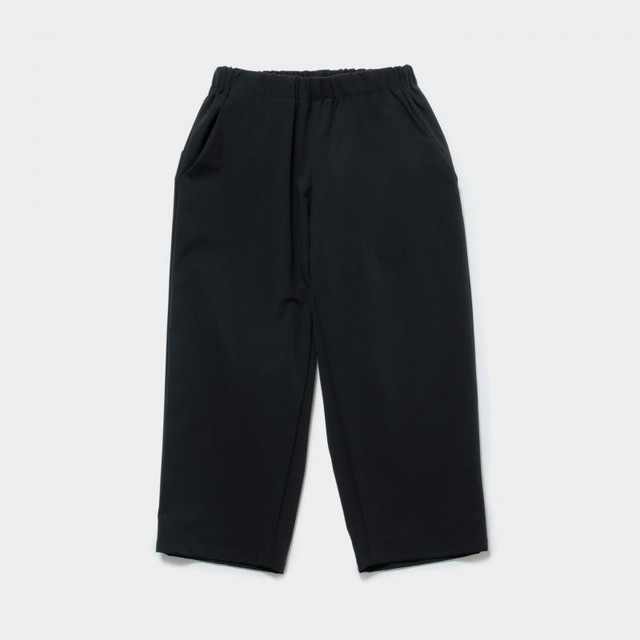 MOUN TEN.  nylon strech pantsブラック 110 125 140 MT191003