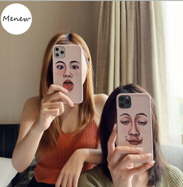 【オーダー商品】Funny face iphone case