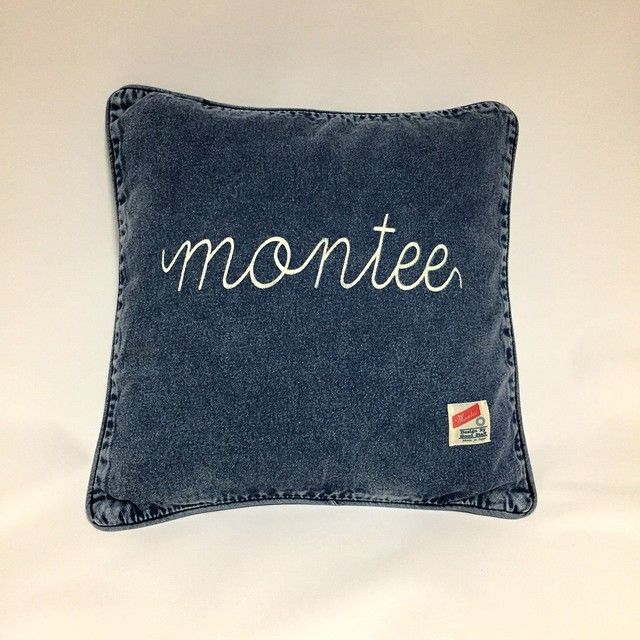 montee Denim Cushion Cover