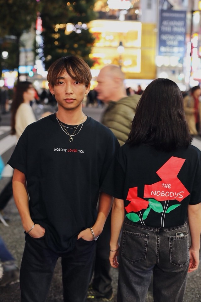 MNKM x NOBODY LOVES YOU コラボTee