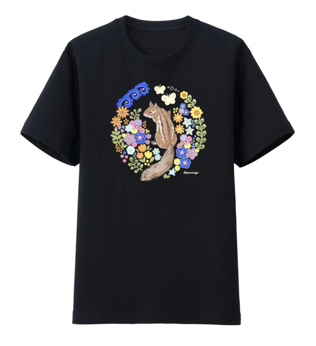 Tシャツ「night forest」