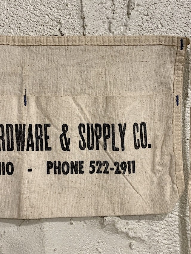 """WORK APRON """" MANSFIELD HARDWARE & SUPPLY CO.  """""""