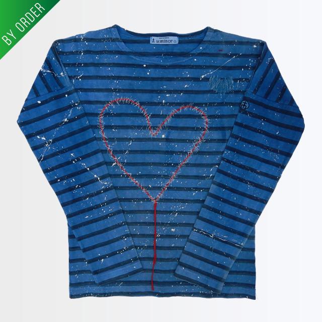 【 BY ORDER 】Heart*リメイクTシャツ