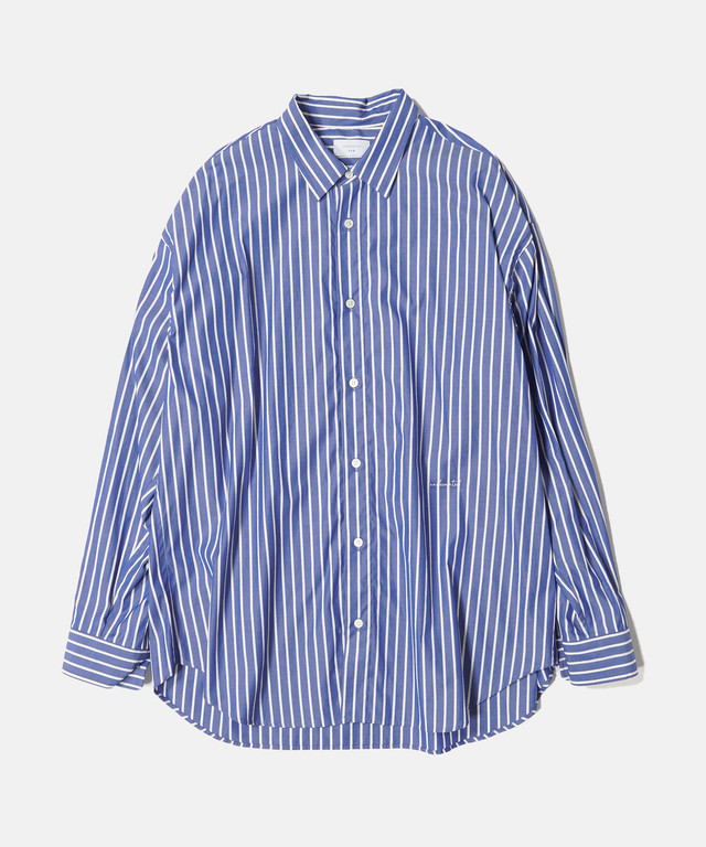 UNDECORATED CO BROAD L/S SHIRT Stripe UDS21205