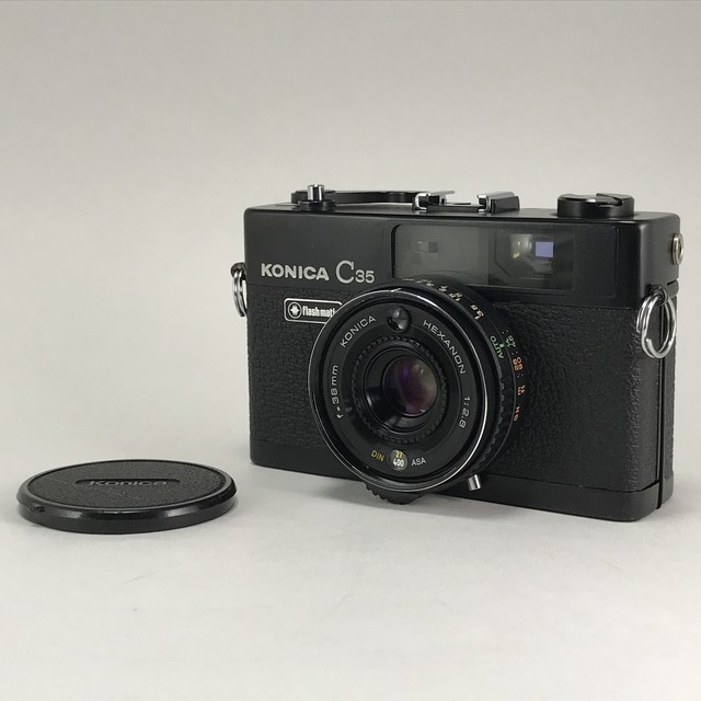 KONICA C35 flashmatic Black