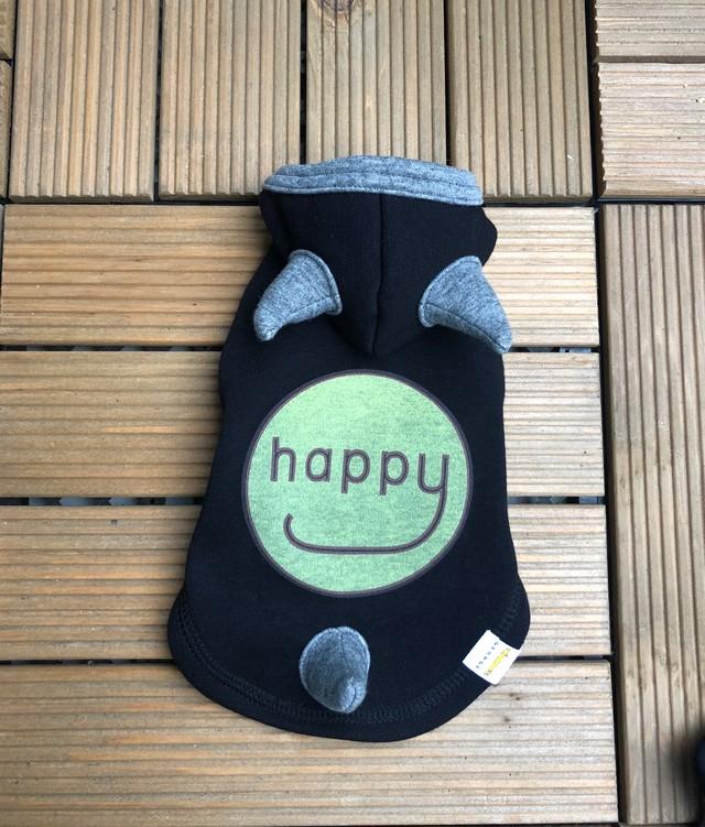 HAPPY DEVIL HOODIE グレー(ハッピーデビルフーディー)/ GEORGE